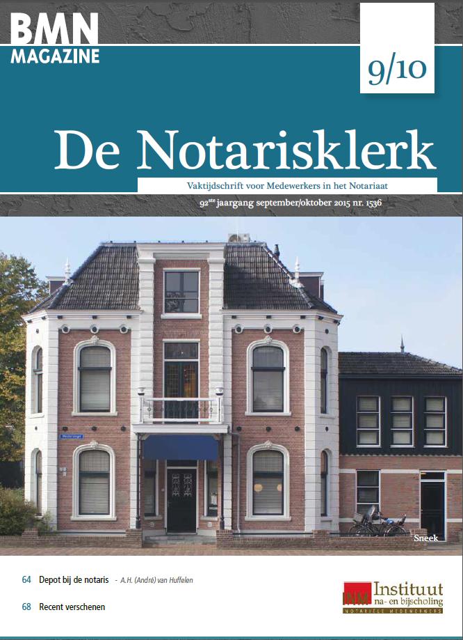 De Notarisklerk - Alle edities online